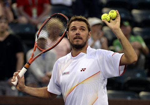 Stan Wawrinka, principalul favorit al turneului de tenis de la Miami, a fost eliminat în optimi