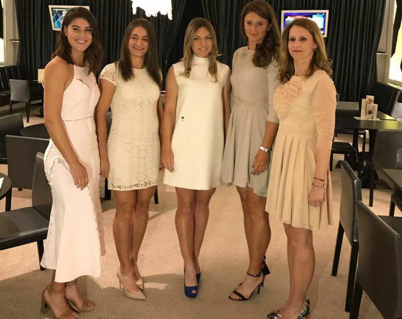 GALERIE FOTO | Ce notă merită MISS România? Monica, Irina, Simona şi Sorana au strălucit la dineul oficial din Fed Cup