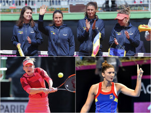 Simona şi Irina au făcut România mare cu britanicele! Fed Cup LIVE BLOG | România - Marea Britanie 3-1. Halep/Niculescu - Rae/Robson 3-6, 6-1, 8-9. Româncele câştigă setul doi, iar partida se va decide în super tie-break