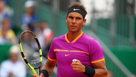 Nadal este rege de Monte Car10. Săptămână de record pentru Rafa, care sparge ghinionul în finale la prima apariţie pe zgură în 2017 | Filmul primului 10 din tenis