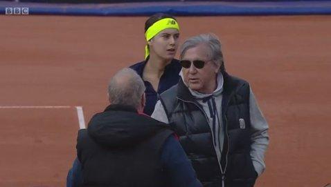 """Reacţia oficială a Federaţiei Române de Tenis după """"scandalul Năstase"""". Cosac: """"Vom trimite un memoriu, Ilie a fost provocat"""". Dezvăluiri despre gestul pe care Nasty ar fi vrut să-l facă duminică"""