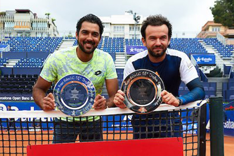 Florin Mergea, campion în proba de dublu de la Barcelona, alături de pakistanezul Qureshi