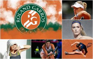 """Avalanşa accidentărilor înainte de Roland Garros. Halep, Kerber, Wozniacki, Muguruza şi Bouchard au emoţii: glezna, spatele şi gâtul sunt """"punctele sensibile"""""""