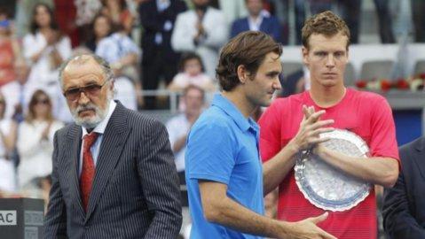 """Roger Federer l-a supărat pe Ion Ţiriac! Declaraţie dură a omului de afaceri: """"Domnul Federer nu e aşa bun pentru circuit!"""""""