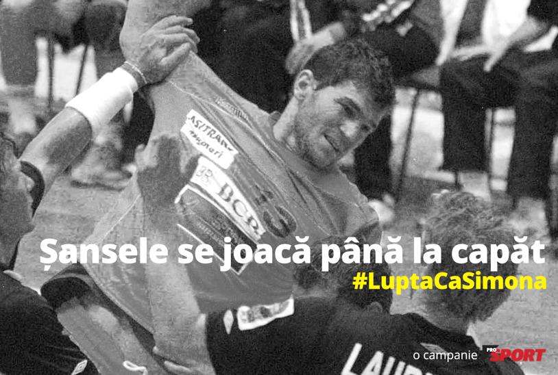 """""""Şansele se joacă până la capăt"""" #LuptaCaSimona"""