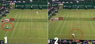 Punctul anului în tenis! VIDEO FABULOS | Minge senzaţională jucată de Thiem şi Marterer la Halle. Cum s-a terminat totul