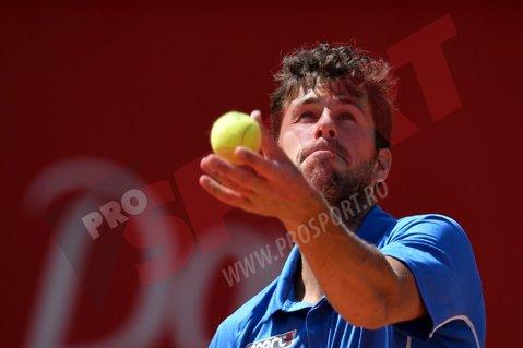 """""""Probabil, tocmai a inventat o nouă lovitură în tenis"""". Un obişnuit al turneului de la Bucureşti i-a uimit până şi pe organizatorii de la Wimbledon. VIDEO"""