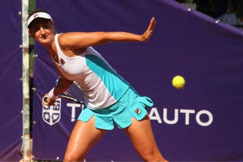 """Irina Begu, după calificarea în sferturile BRD Bucharest Open: """"Am avut un început greoi. Trebuia să fiu eu cea care intră în teren şi conduce jocul"""""""