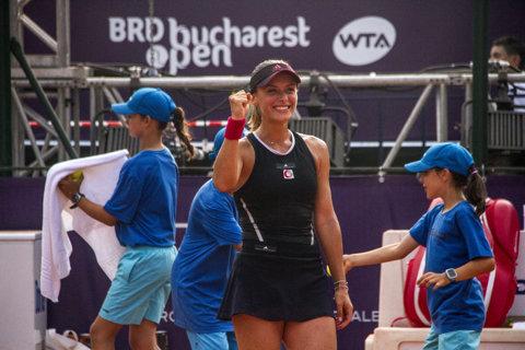 BRD Bucharest Open: avem două românce în semifinale! Ana Bogdan, victorie mare în faţa principalei favorite: i-a lăsat patru game-uri Sevastovei şi va juca în premieră în careul de aşi, pe zgură | GALERIE FOTO
