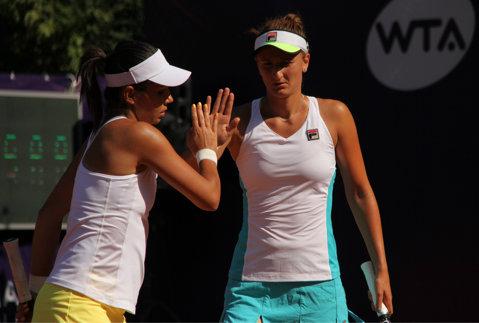Două finale pentru Irina Begu la BRD Bucharest Open: s-a calificat şi în ultimul act de la dublu, alături de Raluca Olaru