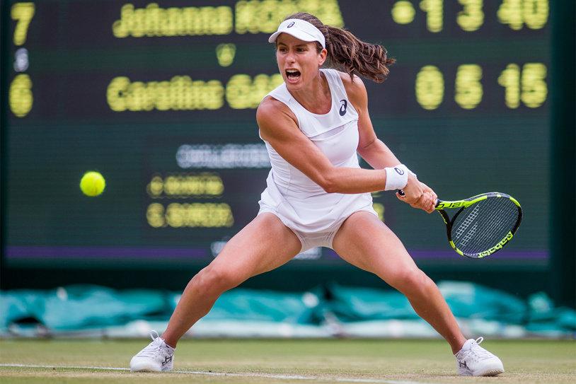 Johanna Konta şi Petra Kvitova au fost eliminate în turul secund de la Rogers Cup