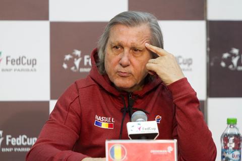 Ilie Năstase a făcut apel, în penultima zi, împotriva suspendării dictate de ITF după întâlnirea din Fed Cup, România - Marea Britanie