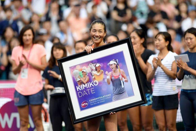 VIDEO | S-a retras cea mai bătrână jucătoare de tenis! Kimiko Date Krumm a pus capăt carierei, la 46 de ani