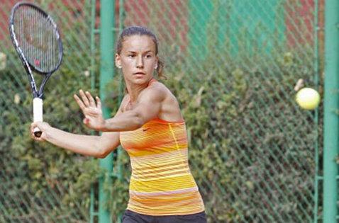 Irina Maria Bara, eliminată în primul tur al probei de dublu la turneul de la Moscova