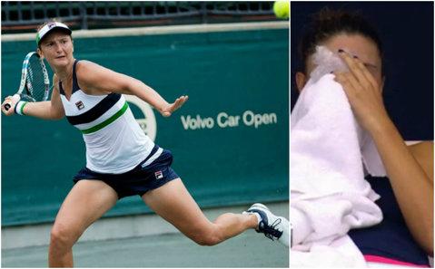 Momente grele pentru Begu la turneul de la Moscova! Irinei i-a curs sânge din nas, dar a trecut până la urmă de numărul 497 WTA | GALERIE FOTO