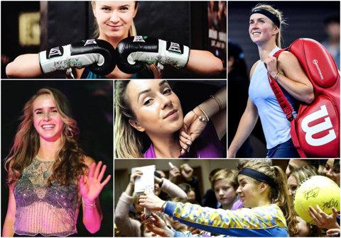 SERIAL 8 cu 8 | Să cunoaştem protagonistele Turneului Campioanelor. Episodul trei: Elina Svitolina. Iubeşte un sport de care, probabil, nu aţi auzit, s-a apucat de tenis din gelozie şi a mers la academia deţinută de rivala jucătoarei pe care o idolatriza în copilărie