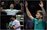 """Finala generaţiei '90 la Turneul Campionilor. Filmul zilei: Dimitrov l-a depăşit, dramatic, pe Sock. Goffin a fost """"David Copperfield"""" al tenisului şi a produs o surpriză URIAŞĂ: l-a învins pe Federer în semifinale, după ce a jucat magistral punctele-cheie. """"Nu am cuvinte!"""""""