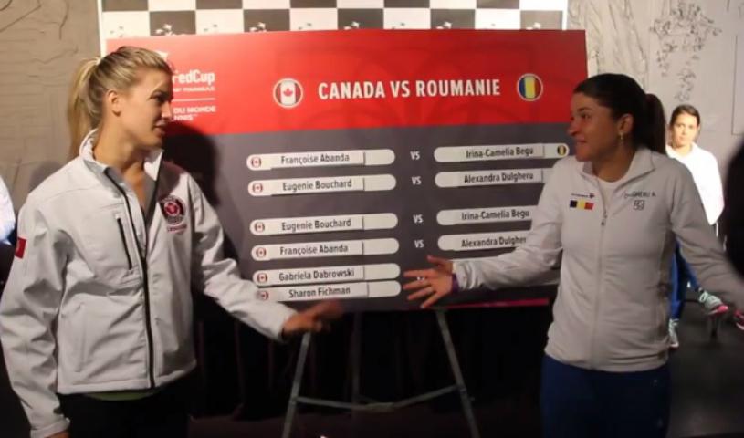 """Bouchard nu vrea să mai dea ochii cu româncele după gestul revoltător de acum doi ani! """"Genie"""" refuză să vină la Cluj pentru meciul din Fed Cup"""