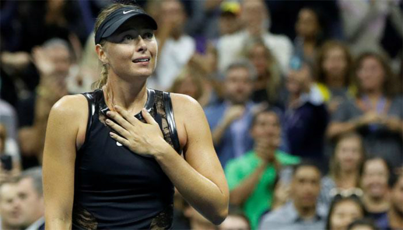 VIDEO   Şarapova a fost cerută în căsătorie de un spectator la ultimul meci. Reacţia Mariei a stârnit hohote de râs