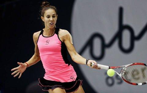 Două victorii pe zi pentru Mihaela Buzărnescu, la Dubai: s-a calificat şi în semifinalele probei de dublu