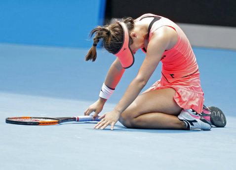 Prima reacţie a adversarei Simonei Halep, după maratonul de la Australian Open. Ce a declarat Lauren Davis