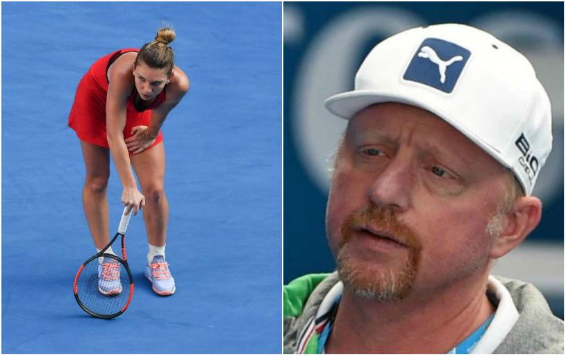 Boris Becker o ajută pe Halep să se ridice după ratarea titlului de la Australian Open! Reacţia de milioane a legendei din Germania şi răspunsul Simonei