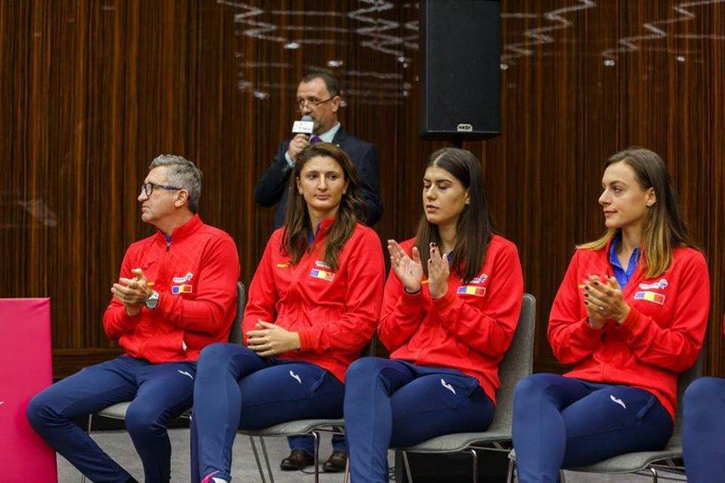 Foto: Facebook @Romanian Fed Cup Team