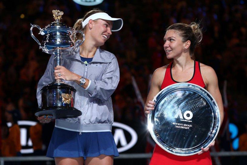 """Atac la Wozniacki! Halep, la două săptămâni de la finala pierdută la Australian Open: """"Eu nu voi face niciodată aşa ceva! Am ajuns numărul 1 mondial fără astfel de trucuri"""". Ce a deranjat-o pe Simona"""