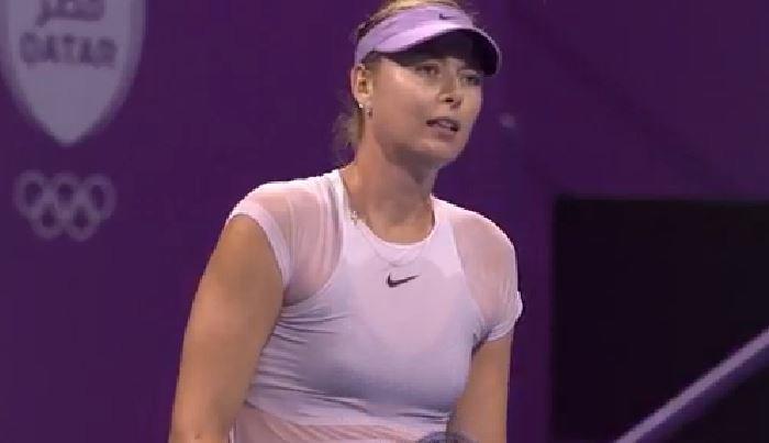 """Maria Şarapova nu înţelege ce s-a întâmplat în meciul cu Monica Niculescu: """"Trebuie să mă uit la înregistrare, să văd de ce am ajuns..."""""""