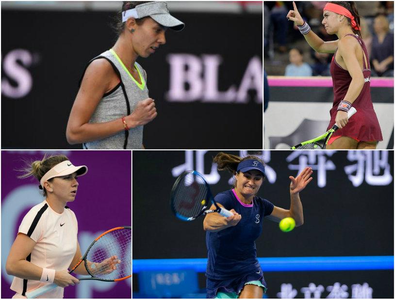 """Doha, tărâm magic! """"Cenuşăreasa"""" Buzărnescu a distrus-o pe Ostapenko şi avem patru românce în optimi! Niculescu a învins-o pe Rybarikova, iar Cîrstea a reuşit o victorie mare. Urmează adversare de top pentru Miki, Simona, Sorana şi Monica"""