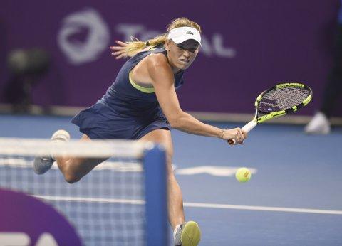 Wozniacki a oferit un nou moment controversat la Doha! Liderul mondial a intrat în conflict cu acelaşi arbitru căruia i s-a plâns de suntele scoase de Monica Niculescu