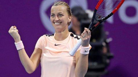 Kvitova, regină la Doha! Cehoaica a învins-o pe Muguruza, a continuat seria incredibilă şi se întoarce în top 10