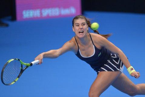 Sorana Cîrstea, eliminată de o jucătoare de pe locul 121 WTA, în primul tur al turneului de la Budapesta