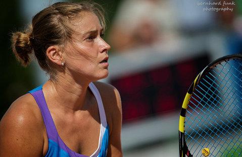 Rezultat superb pentru o tenismenă din România! Laura-Ioana Andrei a învins o jucătoare din echipa de Fed Cup a Rusiei, campioană a junioarelor de la Wimbledon