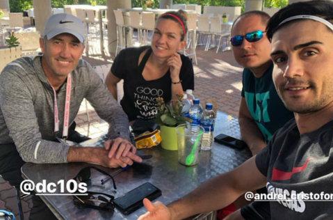 Simona Halep a şters cu buretele momentul delicat de la Indian Wells. Cum şi-a arătat respectul faţă de Darren Cahill