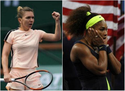 Simona Halep, norocoasă la tragerea la sorţi de la Miami! Mai rău nu se putea pentru Serena Williams. Cu cine joacă celelalte românce
