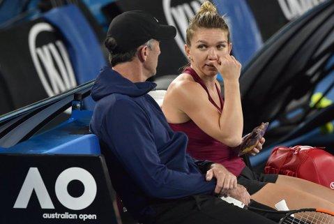 Simona Halep are o comoară alături de ea: Darren Cahill a fost ofertat de Roger Federer! Motivul pentru care actualul antrenor al româncei l-a refuzat pe cel mai mare jucător din istorie