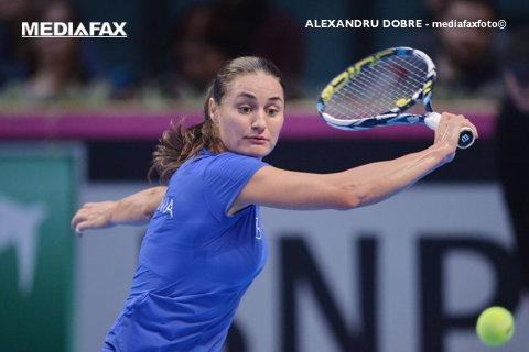 """Niculescu a avansat în turul al doilea al calificărilor de la Miami după o victorie """"scurtă"""". Un fost număr 12 WTA stă între Monica şi tabloul principal"""