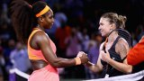 La câteva ore după ce a fost lovită de Serena, Halep a avut un mesaj special pentru americancă! FOTO | Poza şi cele cinci cuvinte care spun TOTUL despre relaţia celor două