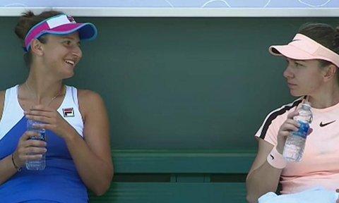 'Sirina' i-a stricat aniversarea lui Bethanie Mattek-Sands | Simona Halep şi Irina Begu au câştigat două tiebreak-uri şi s-au calificat în optimile probei de dublu, la Miami
