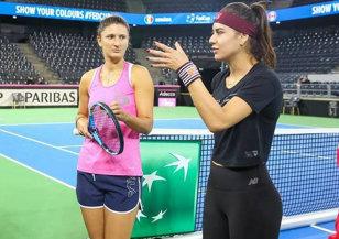 O imagine cât o mie de cuvinte. Cum s-au încheiat tensiunile apărute în Fed Cup între Irina Begu şi Sorana Cîrstea