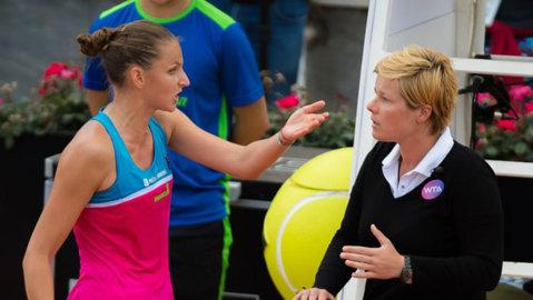 Interzisă la Roland Garros din cauza ieşirii necontrolate? Karolina Pliskova riscă enorm după spectacolul dezagreabil de la Roma