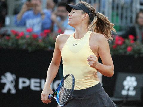 Şarapova dă o mare lovitură înainte de Roland Garros. Veste excelentă şi o performanţă uriaşă pentru Mihaela Buzărnescu. Corespondenţă de la Roma