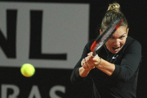 Una donna in nero. Simona Halep a pus apăsat în CV victoria 101 pe zgură, pe muzica din Piraţii din Caraibe: 6-2, 6-3 cu Garcia. Blockbuster în semifinale | Corespondenţă din Roma