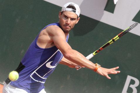 Roland Garros | Rafael Nadal zâmbeşte. Numele incomode au aterizat în jumătatea opusă de tablou. Corespondenţă din Paris