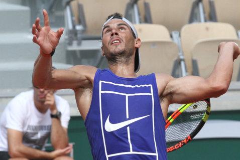"""""""Nu ar putea fi altfel!"""". Rafael Nadal, franc înainte de startul Roland Garros-ului. Corespondenţă din Paris"""