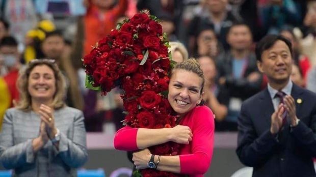 Nice Holiday! Simona Halep ends in 2018 first. WTA announced the top 10 final of the year