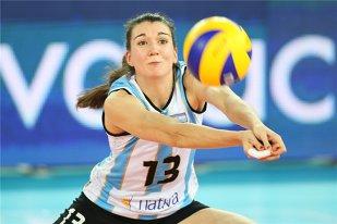 Transfer olimpic la echipa feminină de volei Dinamo. Argentinianca Leticia Boscacci, prezentă la JO de la Rio cu naţionala ţării sale, va juca în tricoul alb-roşu