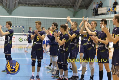 Volei Municipal Zalău, campioană naţională după cel mai spectaculos sezon al voleiului masculin românesc