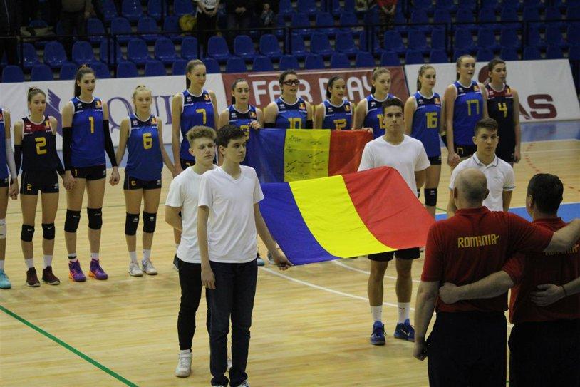 Voleiul feminin românesc are viitor. Naţionala de junioare s-a calificat la turneul final al Europeanului Under 17